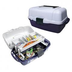 Ящик рыболовный пластиковый Salmo 1-полочный