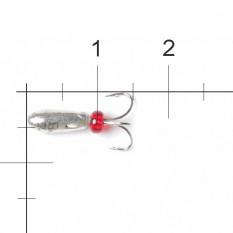 Мормышка вольфрамовая Lucky John Чёртик с отв. 3,0мм S