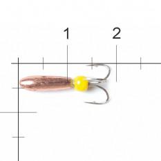 Мормышка вольфрамовая Lucky John Чёртик с отв. 3,8мм C