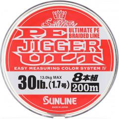 Плетёный шнур Sunline PE JIGGER ULT 8 200m #0.6/4.5kg