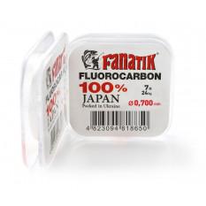 Флюорокарбон Fanatik 7м #14.0 0.700мм 24кг
