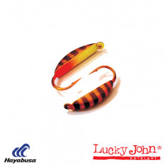Мормышка вольфрамовая Lucky John БАНАН супер с петел. 030/43