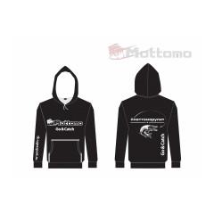 Толстовка Mottomo, цвет чёрный, размер S (46)