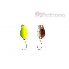 Блесна Mottomo Trout Blade Rainbow 2.1g 008