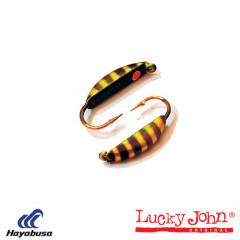 Мормышка вольфрамовая Lucky John БАНАН супер с петел. 035/45