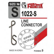 Застежка безузловая Fanatik 1022-S длина 13 мм, 9 шт.