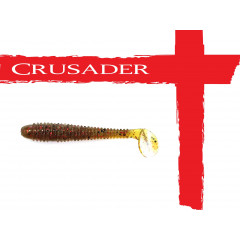 Мягкая приманка Crusader No.08 55мм, цв.002, 10шт.