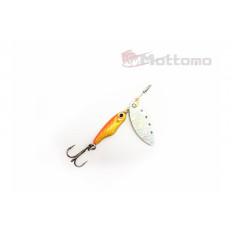 Блесна Mottomo Spin Blade #1 6g Gold Silver