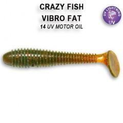Виброхвост Crazy Fish VIBRO FAT 1-7.1-14-1