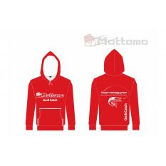 Толстовка Mottomo, цвет красный, размер XXL (54)