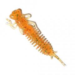 """Личинка стрекозы Fanatik Larva 3.0"""" 7.5см цвет: 009 6шт."""