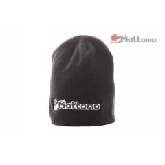 Шапка с логотипом Mottomo серая