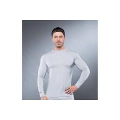 Фуфайка мужская GUAHOO Health Milk 610 L светло-серый