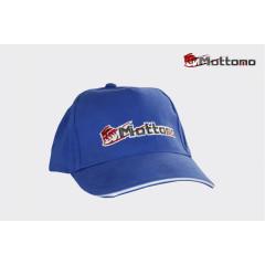 Бейсболка Mottomo синяя