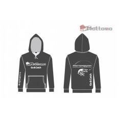 Толстовка Mottomo, цвет тёмно-серый, размер M (48)