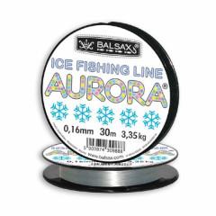 Леска зимняя Balsax Aurora 30м 0,12