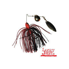 Спиннербейт Lucky John SPINNER BAIT RED VAMPIR 21.0г 21