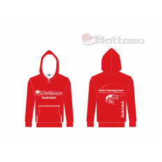 Толстовка Mottomo, цвет красный, размер XL (52)