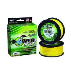 Плетеный шнур Power Pro Hi-Vis Yellow 0.13/8kg 275m