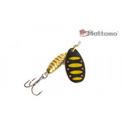 Блесна Mottomo Bug Blade #1 5.5g Black 44