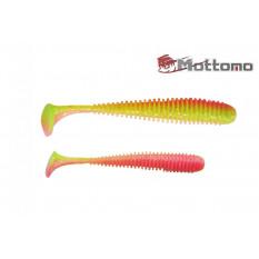 Виброхвост Mottomo Noise 8,75см Chartreuse Orange 5шт.