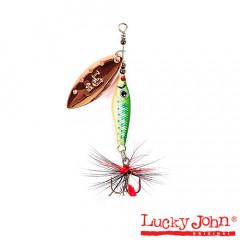 Блесна вращающаяся Lucky John Trian Blade Long 9 гр, цвет 005