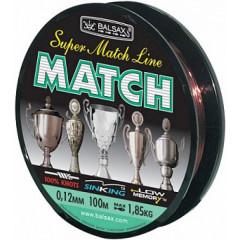 Леска Balsax Match 100м 0,16