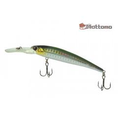 Воблер Mottomo Deep Hooker 90F 8,5g Col:F457 Green Silver
