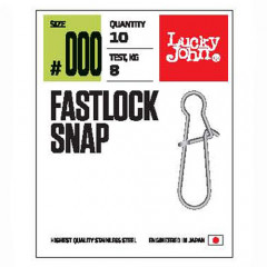 Застежки Lucky John Pro Series FASTLOCK SNAP 0000 10шт.