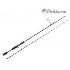 Спиннинг кастинговый Mottomo Spring Cast MSPC-702H 213см/12-42g