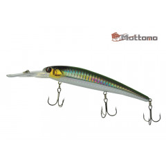 Воблер Mottomo Catcher 120F 20g Col:F457 Green Silver