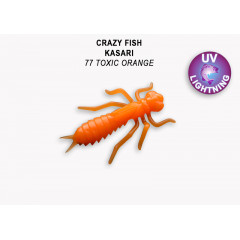 "Личинка Crazy Fish KASARI 1.6"" 51-40-77-7"