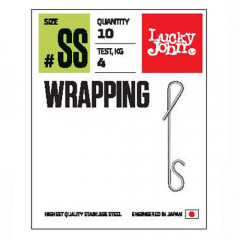 Соединители безузловые Lucky John Pro Series WRAPPING 04L 9кг 7шт.
