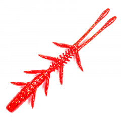 "Креатура Jackall Scissor Comb 3.8"" (7 шт.) red gold flake"