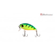 Воблер Mottomo Stalker 36F 3,5g Lime Tiger