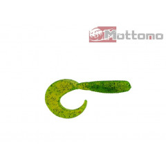 Твистер Mottomo Tornado 5,5см Chartreuse Pepper 20шт.