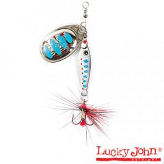 Блесна вращающаяся Lucky John Trian Blade Round 9 гр, цвет 003