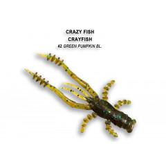 Мягкая приманка Crazy Fish CRAYFISH 26-45-42-6