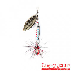 Блесна вращающаяся Lucky John Trian Blade Long 9 гр, цвет 003