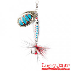 Блесна вращающаяся Lucky John Trian Blade Round 6 гр, цвет 003
