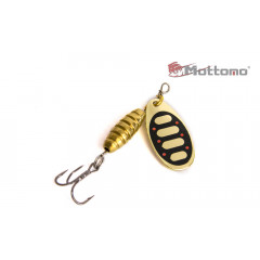 Блесна Mottomo Bug Blade #0 3.5g Gold 19