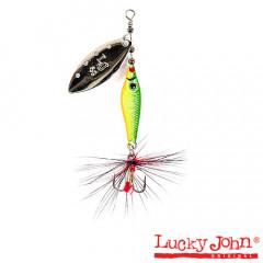 Блесна вращающаяся Lucky John Trian Blade Long 6 гр, цвет 008