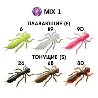 """1,6"""" (4 см) Mix"""