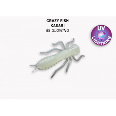 "Личинка Crazy Fish KASARI 1.6"" 51-40-89-7"