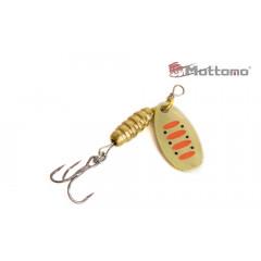 Блесна Mottomo Bug Blade #0 3.5g Gold 14