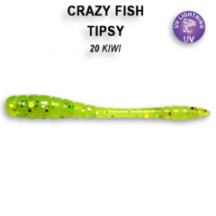 Мягкая приманка Crazy Fish TIPSY 9-5-20-4