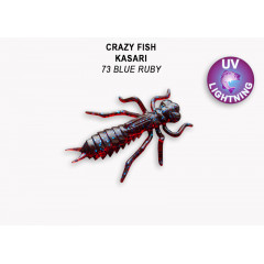 "Личинка Crazy Fish KASARI 1.6"" 51-40-73-7"