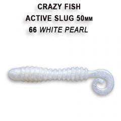 """Силиконовая приманка Crazy Fish Active slug 2"""" 29-50-66-6"""