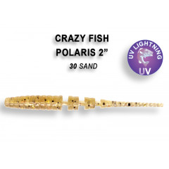 "Мягкая приманка Crazy Fish POLARIS 2"" 17-5.5-30-6"