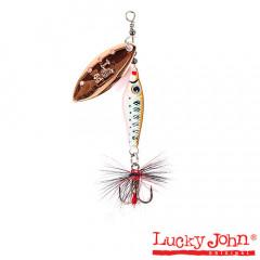 Блесна вращающаяся Lucky John Trian Blade Long 6 гр, цвет 006